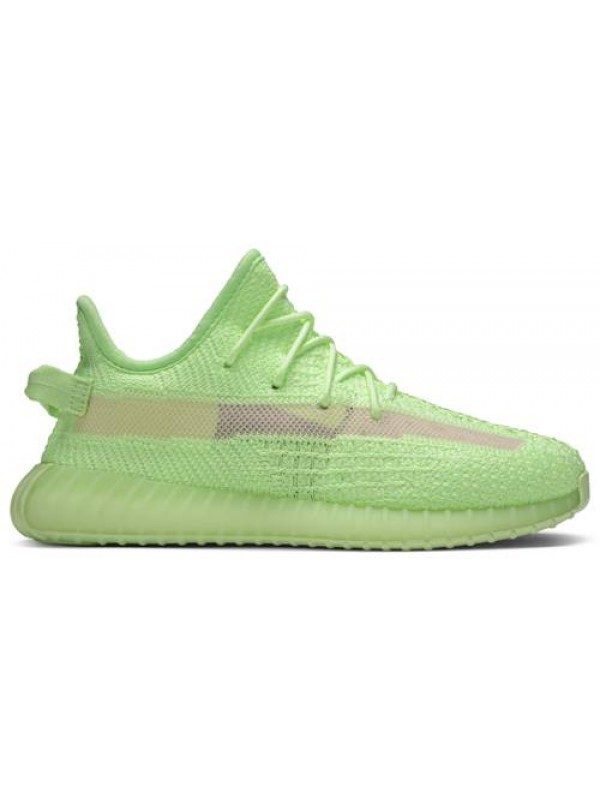 UA Adidas Yeezy Boost 350 V2 GID 'Glow' (Toddlers And Youth)