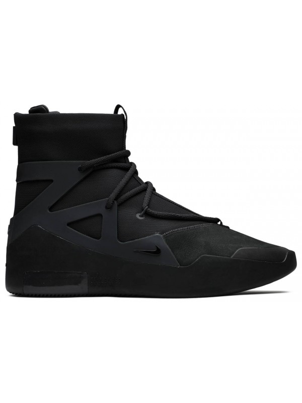 UA Nike Air Fear of God 1 Triple Black