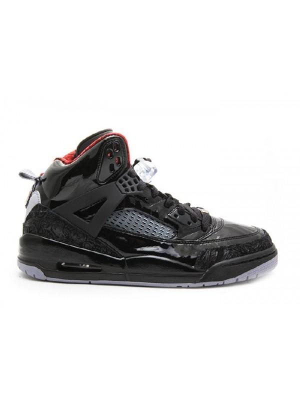 UA Air Jordan Spiz'lke Stealth Black Varsity Red