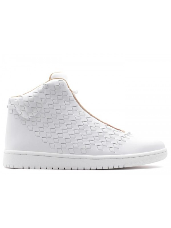 UA Air Jordan Shine White Vachetta Tan