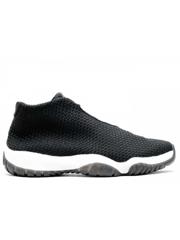 UA Air Jordan Future Black White