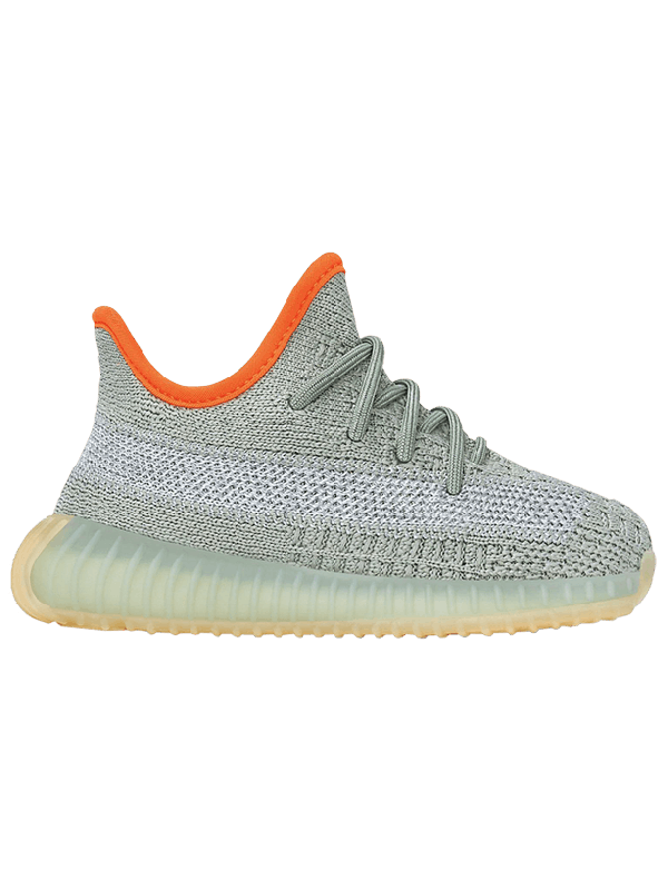 UA Adidas Yeezy Boost 350 V2 Desert Sage (TODDLERS AND YOUTH)