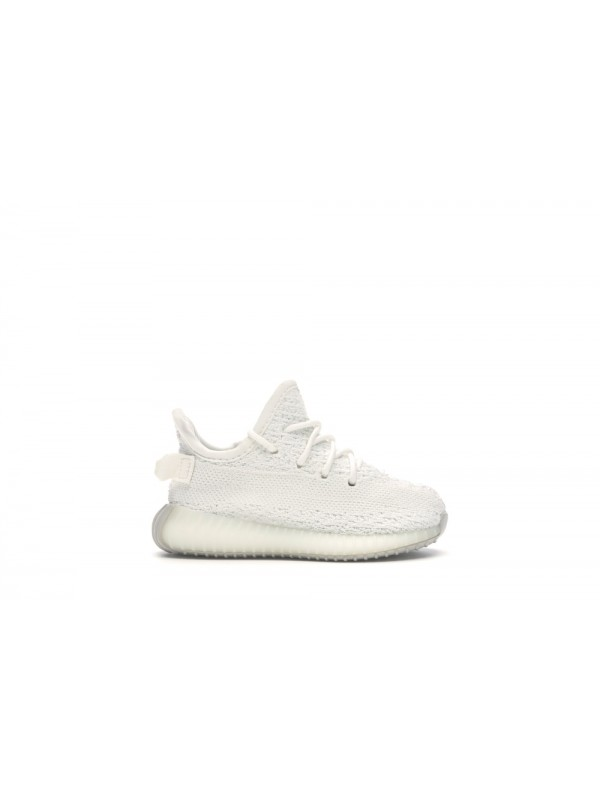 UA Adidas Yeezy Boost 350 V2 Cream White (Toddlers And Youth)