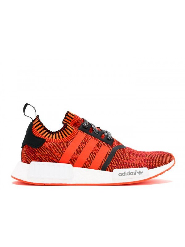 Cheap NMD R1 PK NYC RED APPLE Red White Black Sneakers