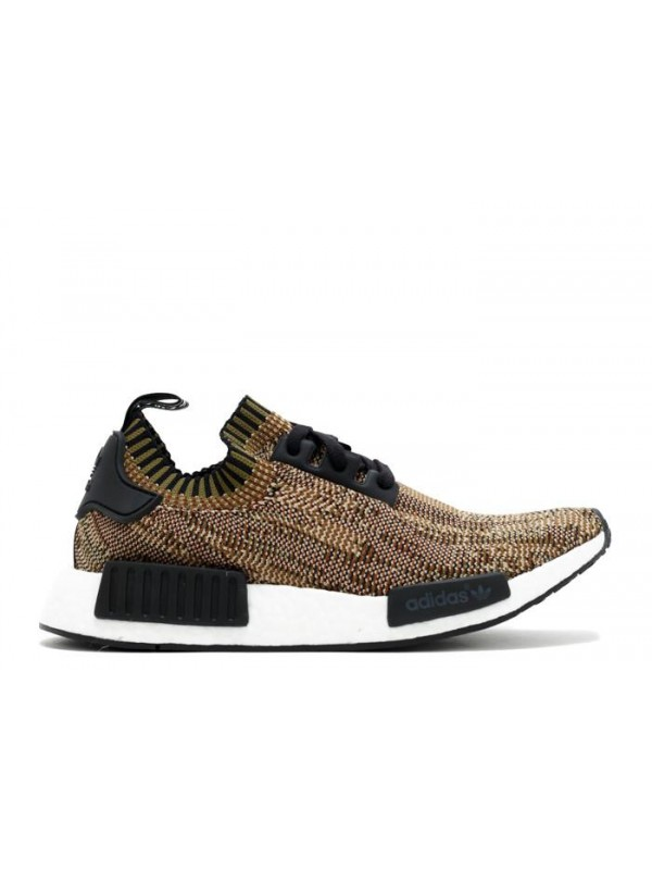 Cheap NMD R1 PK Camo Pack Olive Cargo Core Black White Sneaker
