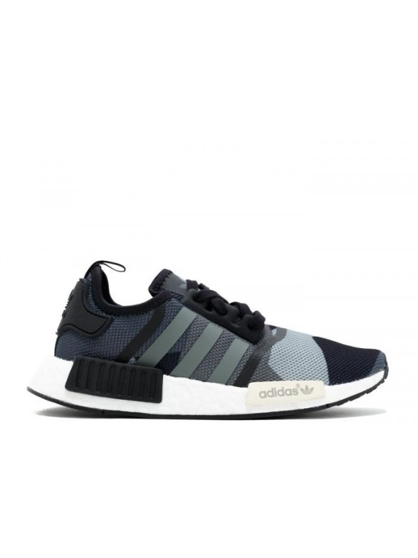 Cheap NMD R1 Camo Grey Black Sneaker