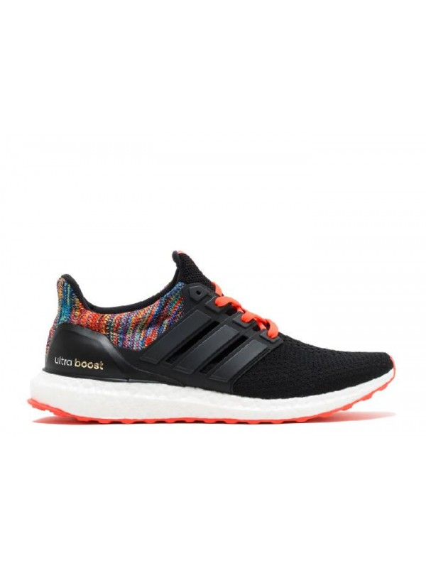 Cheap Ultra Boost 2.0 Core Black Multicolor