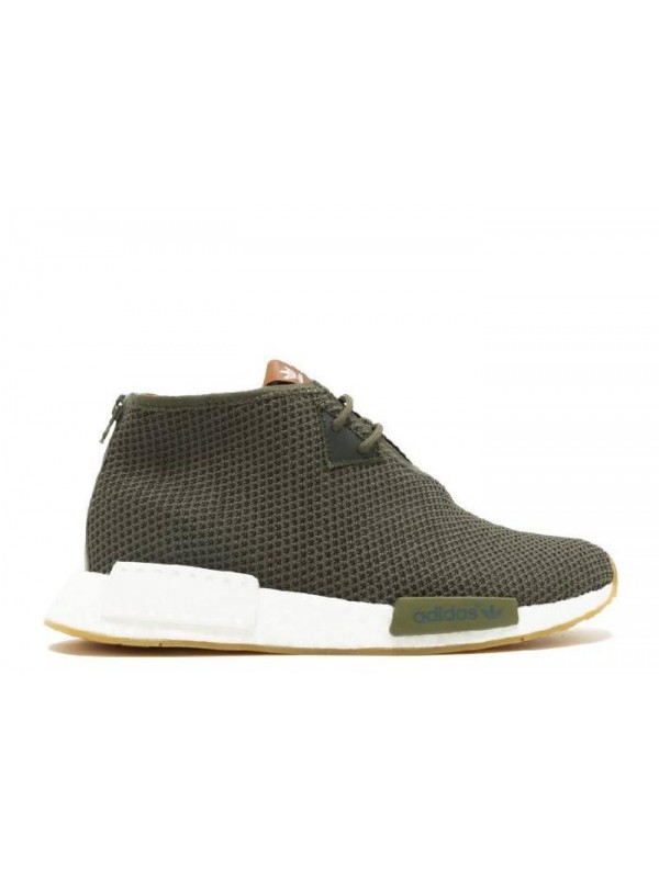 Cheap NMD C1 End X Consortium Earth Green Solid Green