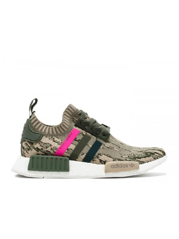 NMD R1 W PK Green Pink