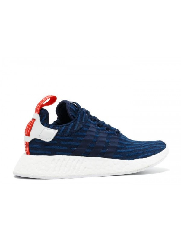 NMD R2 PK Navy White Red