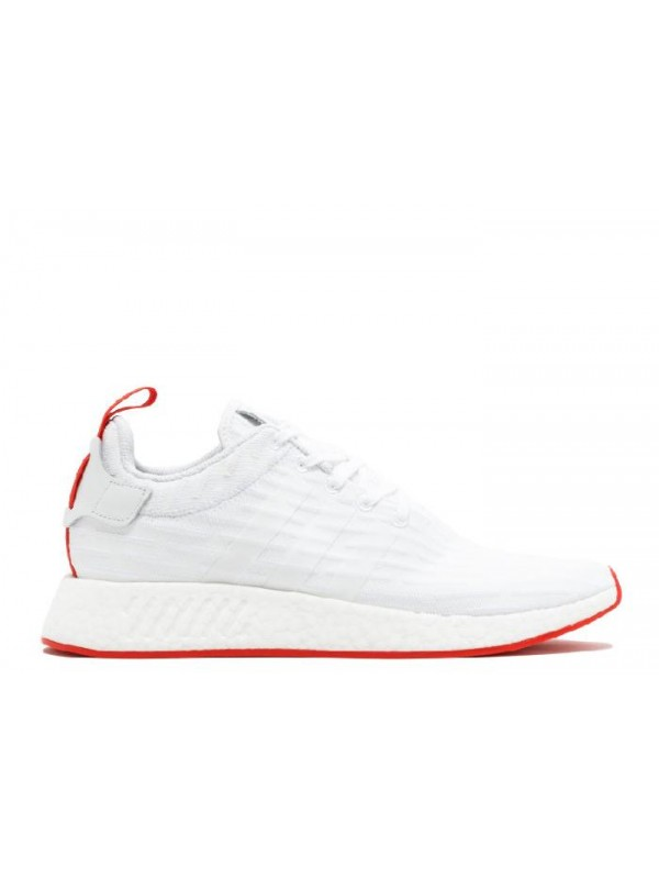 NMD R2 PK White Core Red