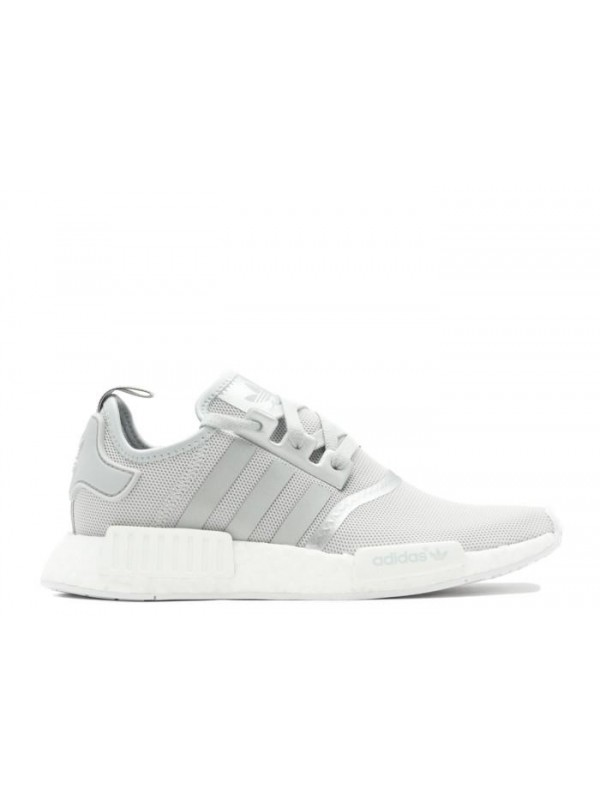 Cheap NMD R1 W Grey Mtllc-Silver Sneakers