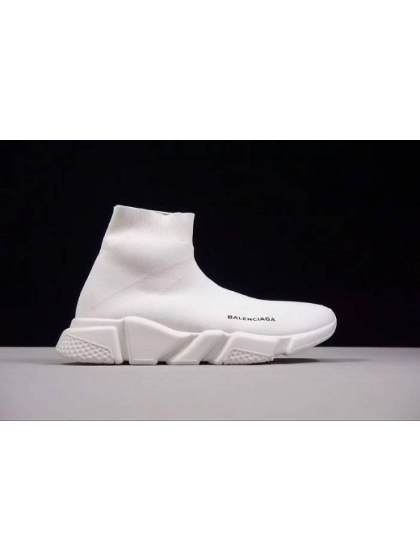 UA Speed Stretch-Knit White Mid Sneakers Online