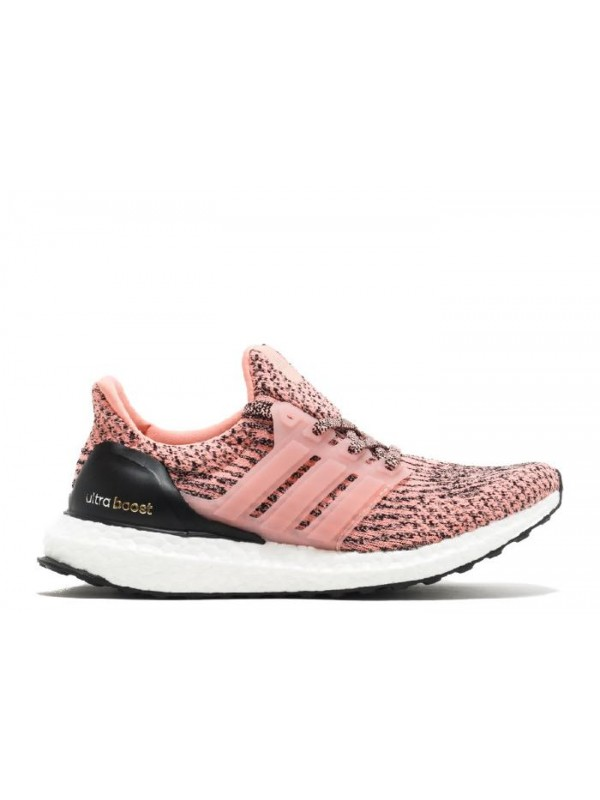 UA Ultra Boost W Still Breeze Pink Black White