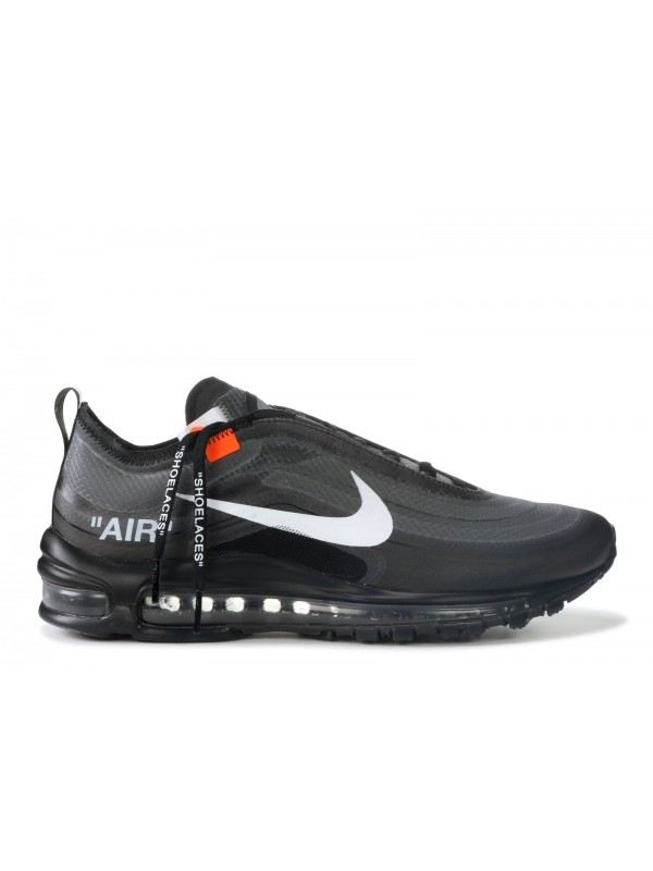 """The 10: UA Air Max 97 Black """"OFF-WHITE"""" for Sale"""