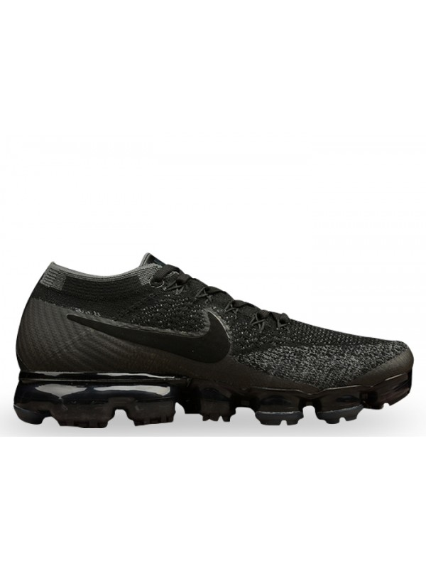 UA Nike Air Vapormax Flyknit Black Dark Grey
