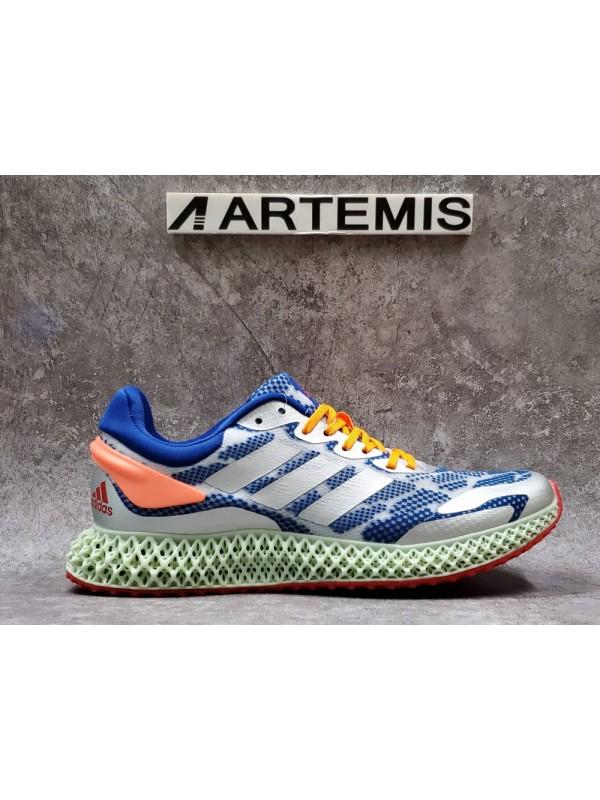 UA Adidas Alphaedge 4D Blue Orange