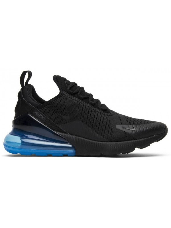 UA Nike Air Max 270 Black Photo Blue