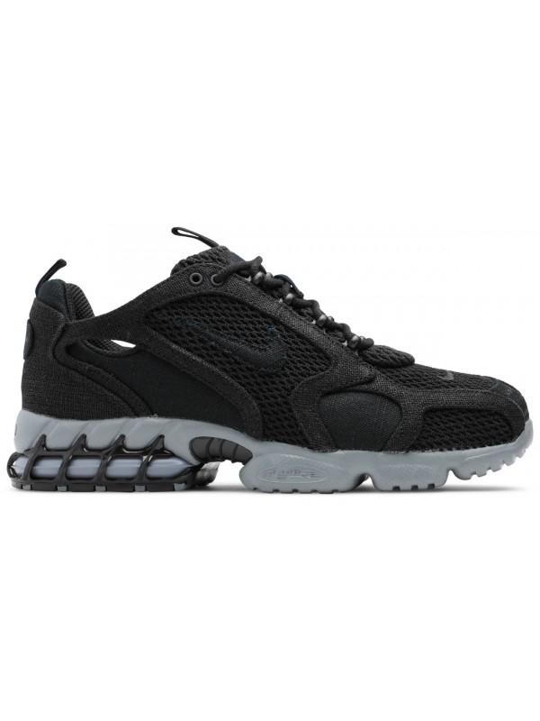 UA Nike Air Zoom Spiridon Cage 2 Stussy Black