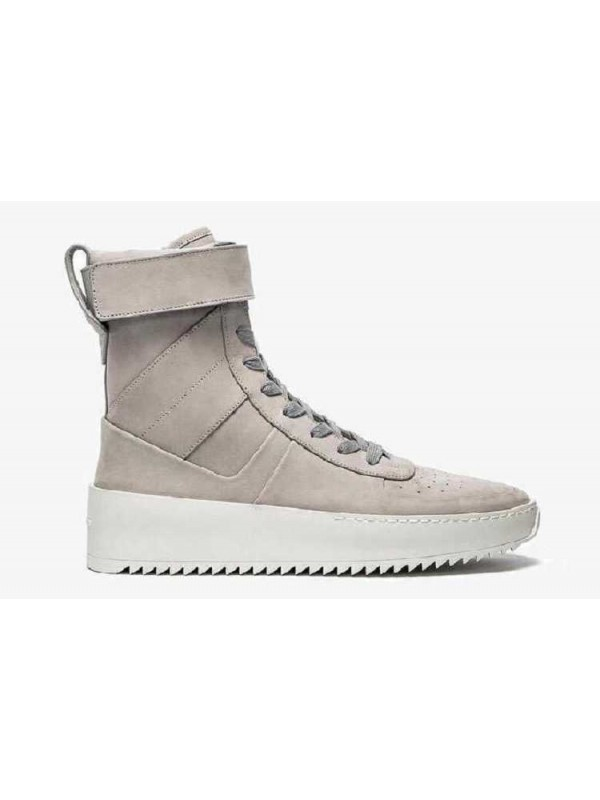 Fear Of God Military Sneaker Boots - Overcast Grey from Artemisoutlet
