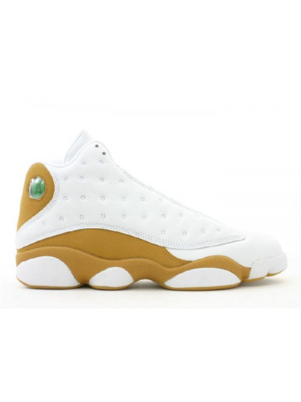 UA Air Jordan 13 Retro White Wheat