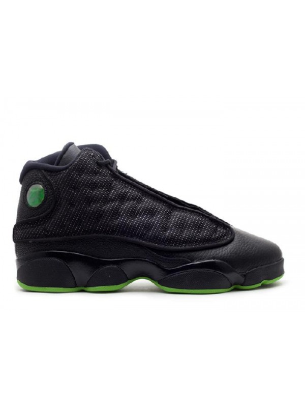 UA Air Jordan 13 Retro(GS) Altitude 2010 Black Green
