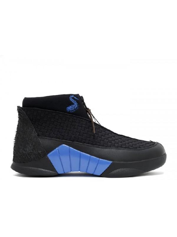 UA Air Jordan 15 Retro Kubo Black Varsity Blue