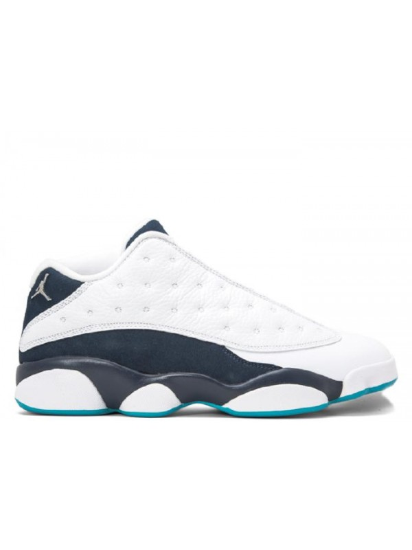 UA Air Jordan 13 Retro Low Hornets Metallic Navy
