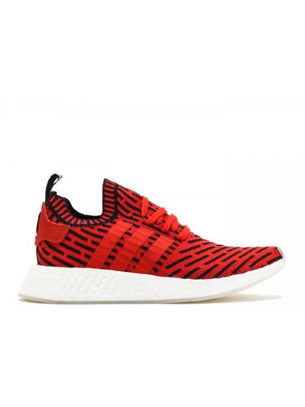 UA NMD R2 PK Red Black White Sneakers for Sale Online