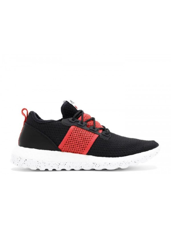Pure Boost ZG Primeknit LI Livestock Core Black White Bright Red