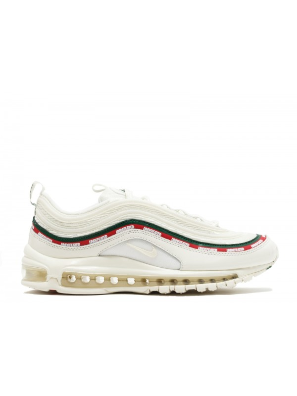 UA Nike Air Max97 Undefeated White for Sale