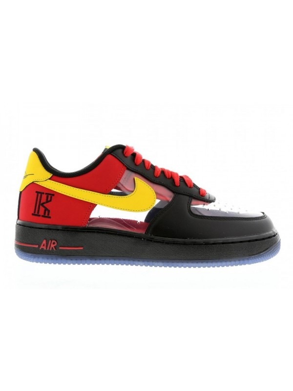"""UA Nike Air Force 1 CMFT Signature QS """"Kyrie Irving"""" Universtiy Red for Sale"""