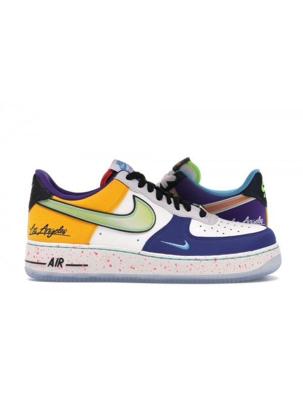 UA Nike Air Force 1 Low What The LA