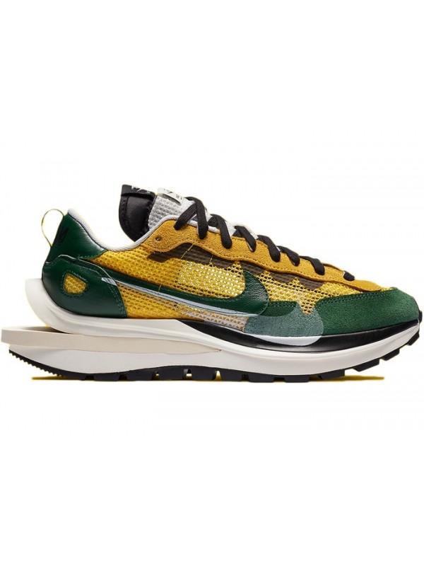 UA Nike Vaporwaffle sacai Tour Yellow Stadium Green