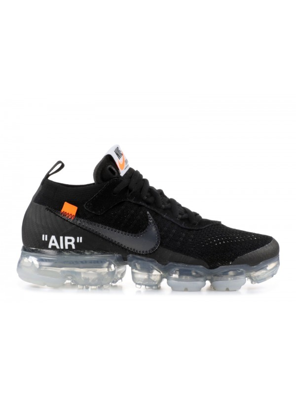 UA Air Vapormax X Off White 2018 Black Transparent Bottom for Sale