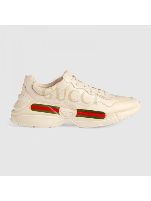 UA Rhyton Gucci logo leather sneaker Online