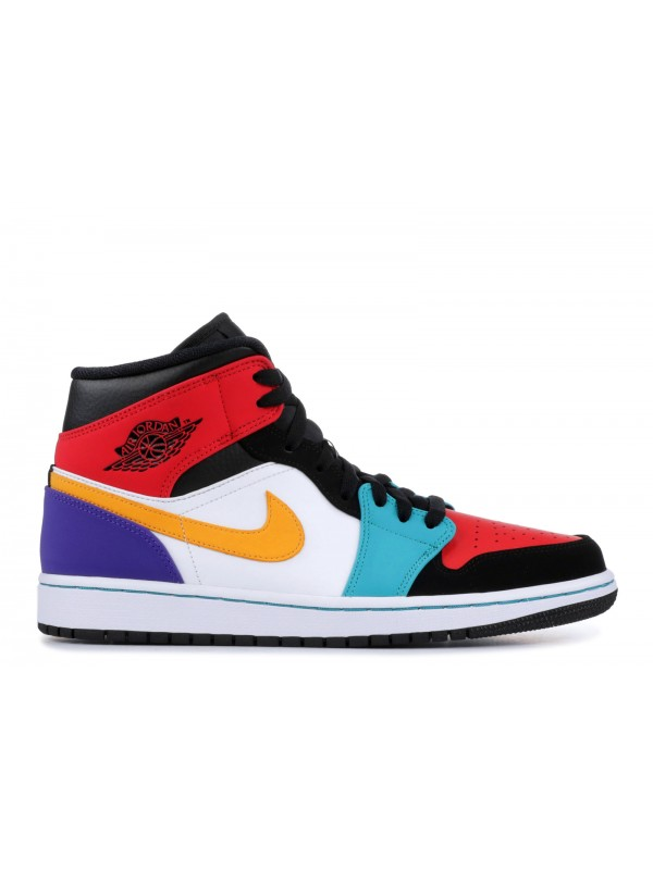 "UA AIR JORDAN 1 MID ""MULTI-COLOR"""