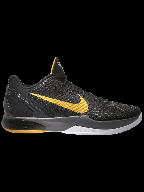 UA Nike Zoom Kobe 6 Black Del Sol